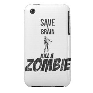 Ahorre una matanza del cerebro un zombi iPhone 3 cobertura