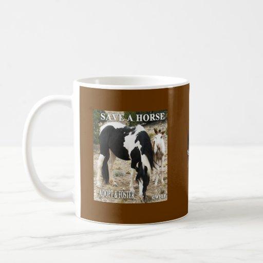 Ahorre una taza del caballo