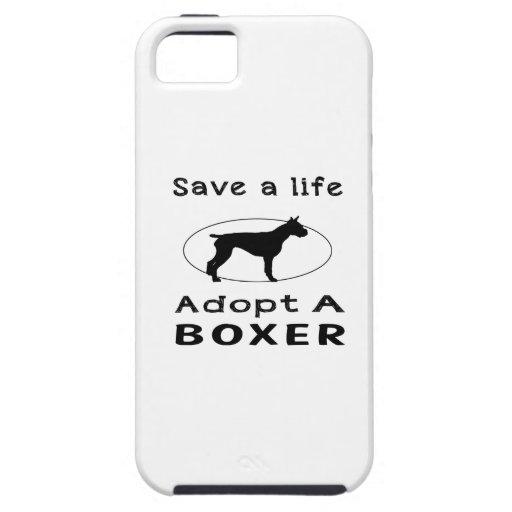 Ahorre una vida adoptan a un boxeador iPhone 5 carcasa