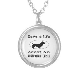 Ahorre una vida adoptan Terrier australiano Collares Personalizados