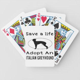 Ahorre una vida adoptan un galgo italiano baraja