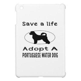 Ahorre una vida adoptan un perro de agua portugués