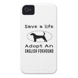 Ahorre una vida adoptan un raposero inglés Case-Mate iPhone 4 carcasas