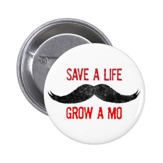 Ahorre una vida - crezca un MES - conciencia del c Pin