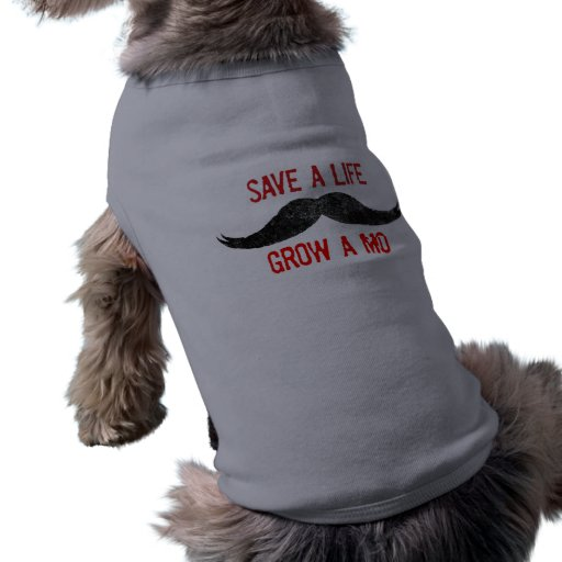 Ahorre una vida - crezca un MES - conciencia del c Prenda Mascota