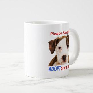 Ahórreme por favor que Adopt no hace compras Tazas Jumbo