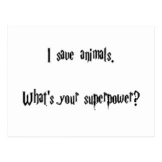 Ahorro animales postal