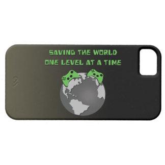 Ahorro del mundo iPhone 5 funda