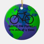 Ahorro del ornamento del planeta adorno