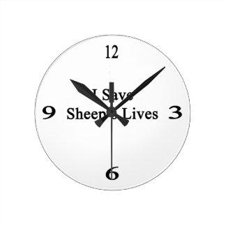 Ahorro las vidas de la oveja