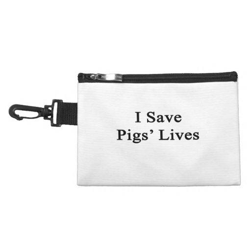 Ahorro las vidas de los cerdos