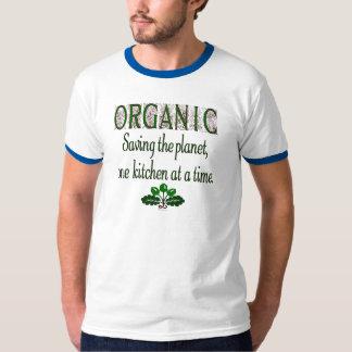 Ahorro orgánico el decir de la cocina del planeta playera