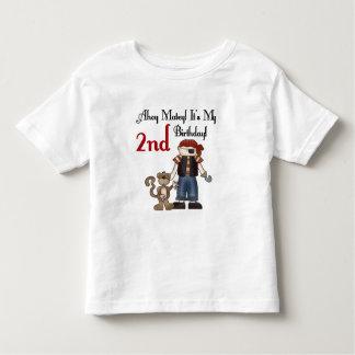 Ahoy 2das camisetas y regalos del cumpleaños del playera de niño