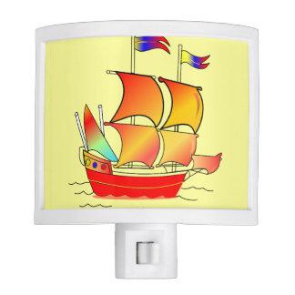 ¡Ahoy, afable! Luces De Noche