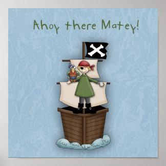 Ahoy allí afable impresiones