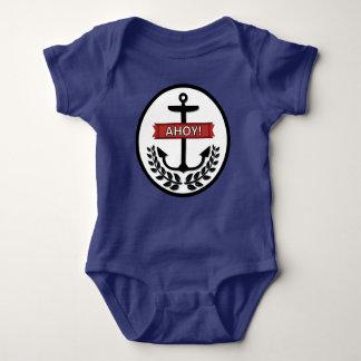 Ahoy - Baby Jersey Bodysuit Baby Bodysuit