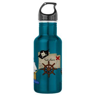 Ahoy botella afable del pirata
