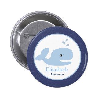 Ahoy botón del personalizado de la ETIQUETA del NO Pin Redondo De 2 Pulgadas