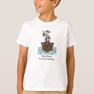 Ahoy camiseta de los niños de los compañeros
