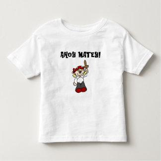 Ahoy camisetas y regalos afables del pirata del playera