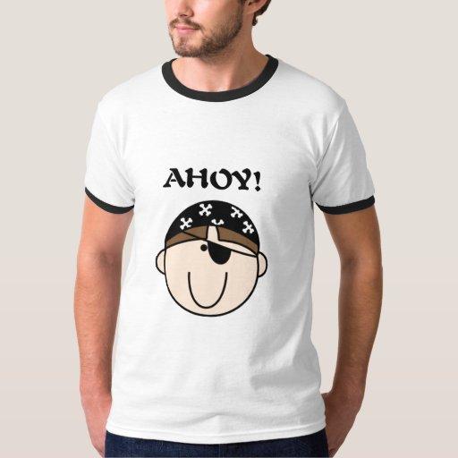 Ahoy camisetas y regalos del pirata remera
