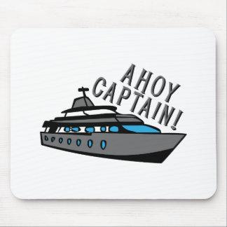 Ahoy Captain Mouse Pads
