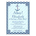 Ahoy es una fiesta de bienvenida al bebé náutica comunicados personales