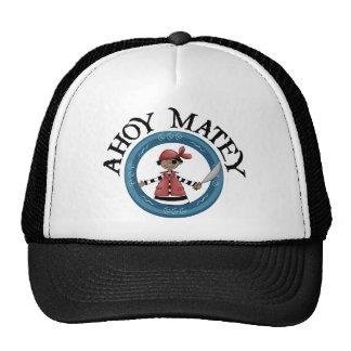 Ahoy gorra afable del pirata de Patcheye