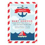 ¡Ahoy! Invitación náutica de la fiesta de bienveni