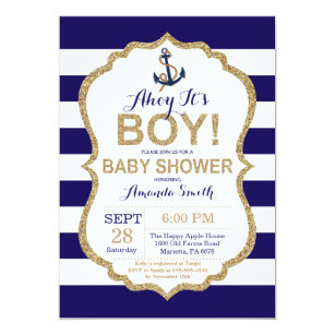 nautical invitations zazzle