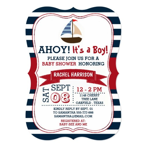 Its A Boy Invitation is beautiful invitations template