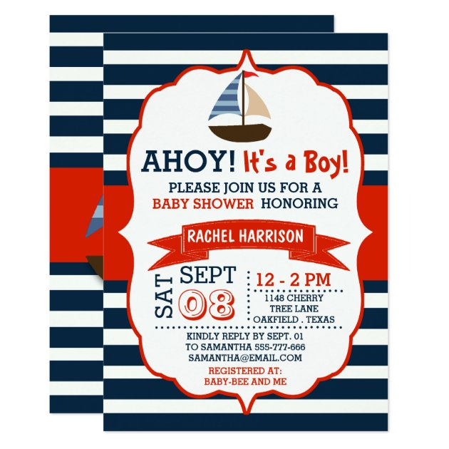 baby boy shower invitations,  baby boy shower announcements, Baby shower invitations
