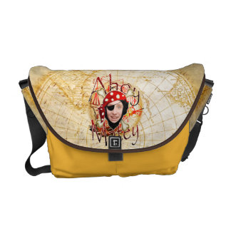 Ahoy la bolsa de mensajero afable de la foto del bolsas de mensajeria