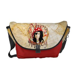 Ahoy la bolsa de mensajero afable de la foto del bolsas messenger