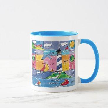 Ahoy! Lighthouse Mug