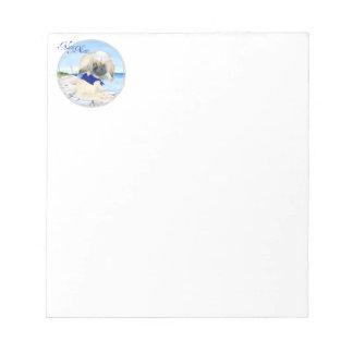 Ahoy Little Sailor Peke Notepad