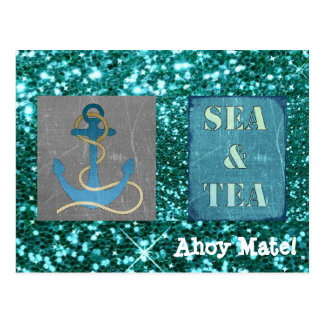 Ahoy Mate! Nautical Post Card to Just Say HiI!