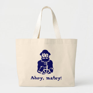 Ahoy, matey! tote bag
