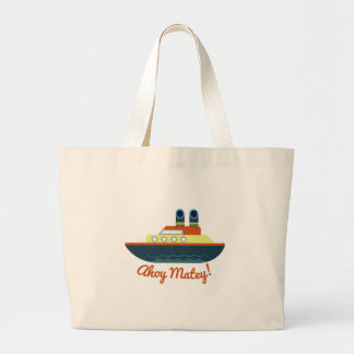 Ahoy Matey Tote Bags