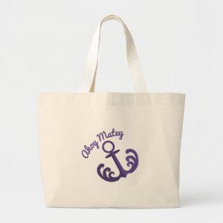 Ahoy Matey Canvas Bags
