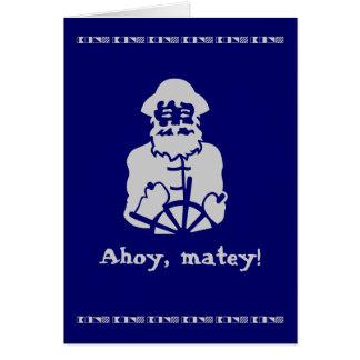 Ahoy, matey! card