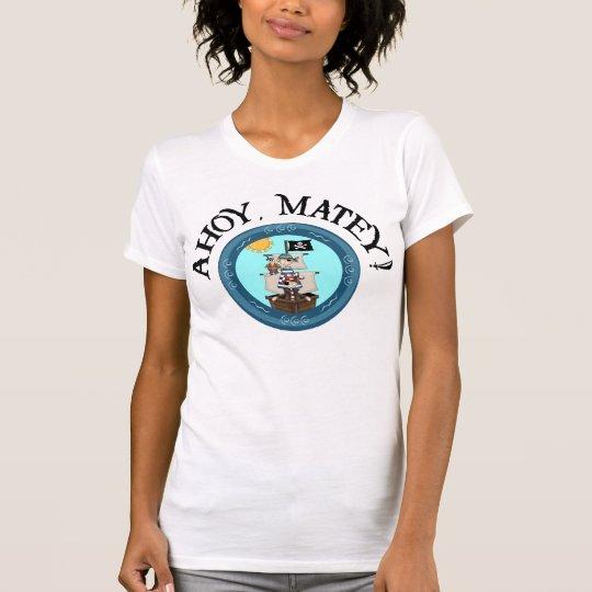 Ahoy Matey Casual Scoop Shirt