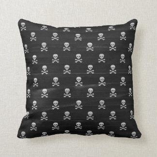 Ahoy Matey Crossbones Pillow