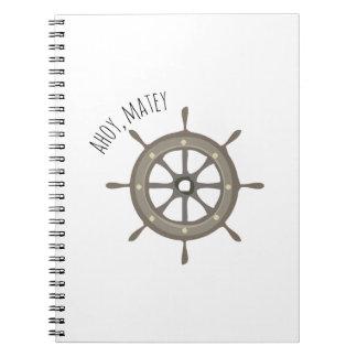 Ahoy Matey Spiral Notebook