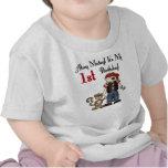 Ahoy Matey Pirate 1st Birthday T-shirt