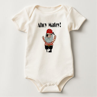 Ahoy Matey Pirate Baby Bodysuit