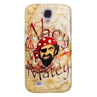 Ahoy Matey Pirate Galaxy S4 Case