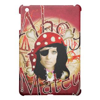 Ahoy Matey Pirate iPad Mini Cover
