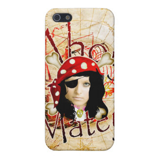 Ahoy Matey Pirate iPhone SE/5/5s Cover
