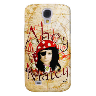 Ahoy Matey Pirate Samsung Galaxy S4 Cover